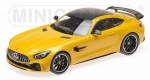 Mercedes Benz AMG GT-R 2017 Yellow 1:18 155036021