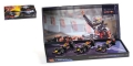 3 Car Set Red Bull Racing 1:43 412101112