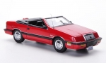 Chrysler LeBaron Convertible 1990 (red) 1:43 44990