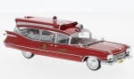Cadillac S&S Superior Ambulance Red 195 1:43 45262