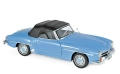 Mercedes Benz 190 SL 1955 Blue 1:18 183400