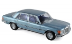 Mercedes Benz 450 SEL 6.9 1976 Bluegre 1:18 183457