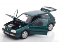 VW Golf VR6 1996 Green Metallic 1:18 188437