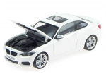 BMW 2 Series Coupe (F22) white 1:43  80422336869