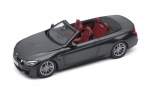 BMW M4 Convertible gray   1:18 80432339610