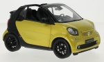 Smart Fortwo Cabriolet (A453) yellow black 1:18 B6