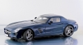 Mercedes Benz SLS AMG (daytona blue) 1:12 10601