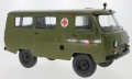 UAZ 452A Ambulance (3962) Green CZ Army 1:18 47073