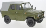 UAZ 469 olive green  light gray 1:18 47088