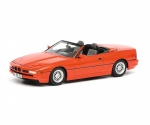 BMW 850i Cabriolet red  1:18 450006800
