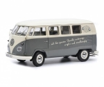 Volkswagen VW T1b Bus grey white 1:18 450037700