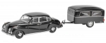 BMW 502 with Funeral Trailer Westfa 1:43 450204500