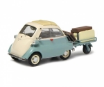 BMW Isetta with trailer and luggage 1:43 450260400