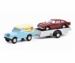 Land Rover with trailer and DB5 Bri1:90 450502700