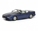 BMW 850i convertible Blue 1:43 450902500