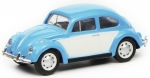 VW Beetle blue white 1:87 452640200