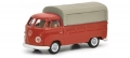 VW T1b pick-up with tarpaulin red 1:87 452644300