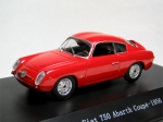 Fiat 750 Abarth Coupé 1956 Red 1:43 517447