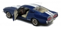 FORD Shelby Mustang GT500 1967 Blue 1:18 1802903