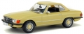 Mercedes Benz 350 SL Yellow 1971 1:43 4302200