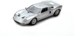 Ford GT40 Street Version 1966 Silver 1:18 18S293