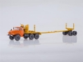 URAL-43204-10 Logging Truck (orange) 1:43 SSM1225