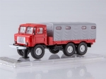 GAZ-34 Flatbed Truck with Tent 1:43 SSML013