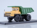 BELAZ-7522 Quarry Dump Truck (yellow/green) 1:43 S