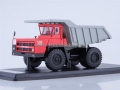 BELAZ-7522 Quarry Dump Truck (red/grey) 1:43 SSML0