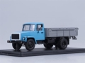 GAZ-3307 Flatbed Truck (blue/grey) 1:43 1150