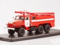 URAL-375N Fire engine AC-40  C1A Moscow  1:43 1231