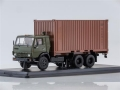 KAMAZ-53212 truck with 20ft. Container ( 1:43 1281
