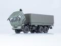 Kamaz-43118 flatbed truck with tent (res 1:43 1316