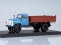 SAZ-3507 (GAZ-53) dump truck blue brown 1:43 1339
