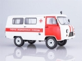 UAZ-3962 Ambulance White 1:18 2004