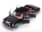 Mercedes Benz 600 Landaulet 1966 Black  1:18 2302
