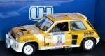 "Renault 5 Turbo #38 ""Hertz"" Yellow/white 1:18 4554"