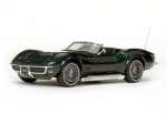 Corvette Open Convertible 1968 Black 1:43 36237