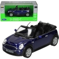 Mini Cooper S Cabrio, niebieski 1/24 WE22461
