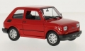 Fiat 126 Red  1:24 (1:21)  24066RED