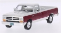 Dodge Ram 1987 (white/dark red) 1:43 206892