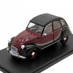 Citroen 2CV Charleston 1982 Red B 1:24  SALRMIT007