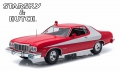 Ford Gran Torino Starsky & Hutch 1976 Red 1:18 190