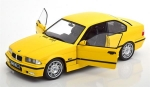 BMW M3 Coupe E36 1994 Dakar Yellow 1:18 1803902